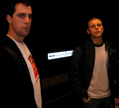 Left :  Mario Clinch, founder and head of Disorder until 2006. Right :  Chris Pace AKA Manthrax, Head of Disorder and resident dj since 2005.